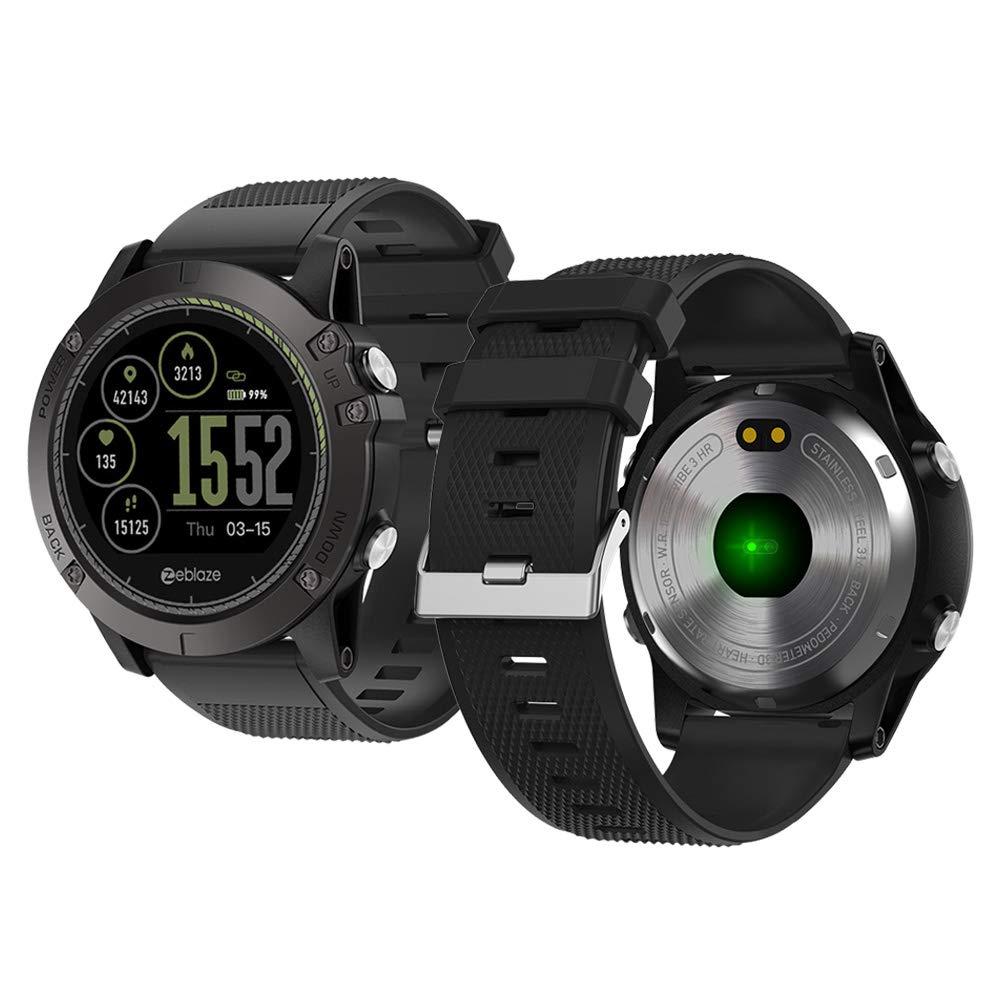Reloj Inteligente,Zeblaze Vibe 3 HR Smartwatch, Ftnesstracker ...
