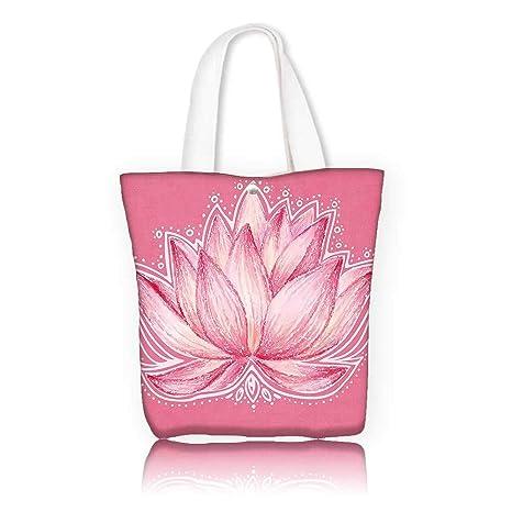 Amazoncom Canvas Tote Bag W22 X H157 X D7 Inchwork School