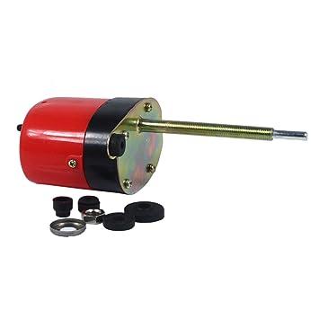 TK Car Parts 01287358 - Motor de limpiaparabrisas con eje largo Autoestacionamiento