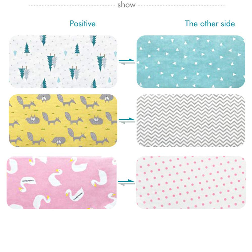 RONSHIN Baby Bed Thicken Bumpers Crib Around Cushion Cot Protector Cushions Room Decor 120//130cm Pink swan 13030