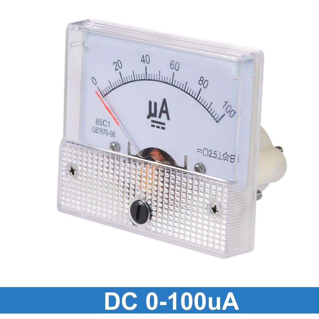 sourcing map 1stk 65C5 Analog Strom Panelmeter DC 30A Amperemeter f/ür Schaltungspr/üfung DE de