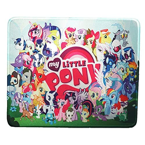 12x10 inch Oh My Little Pony Collection Cute Girl Cartoon Mouse Mat Mouse Pad for cheap