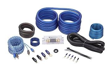 Rockville RWK21 2 Gauge Amp Installation Kit ANL Fuse Holder 100% Copper RCA