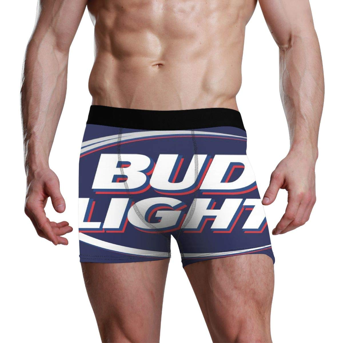 Bud Light Mens Underwear Soft Boxer Briefs Stretch Boxer Trunks