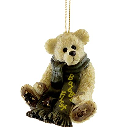 Amazon.com: Boyds Bears Resin Babys First Christmas Ornament ...