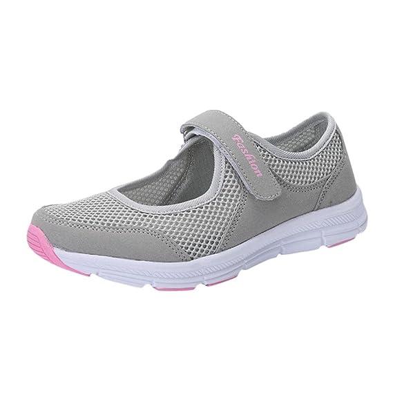 ღ UOMOGO Scarpe da Ginnastica Basse Sandali donna Scarpe basse sneakers  estive eleganti donna scarpe da corsa donna Sportive donna scarpe estate  sandali  ... 7fa9793b2d6