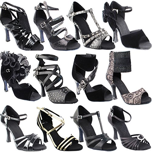 Swing by Dance Shoes Salsa Dress Wedding Party Shoes Ballroom for Latin 2 3