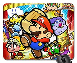 Paper Mario Thousand Year Door Mouse Pad, Mousepad (10.2 x 8.3 x 0.12 inches)