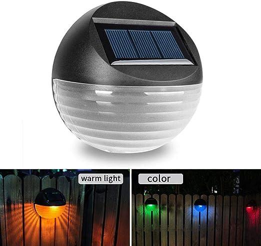 Ksruee Applique Solaire à 2 LED avec écran ondulé, Deux ...