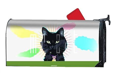 08e9e879e110 Amazon.com   Verna Christopher Magnetic Mailbox Cover - Animal Cat ...