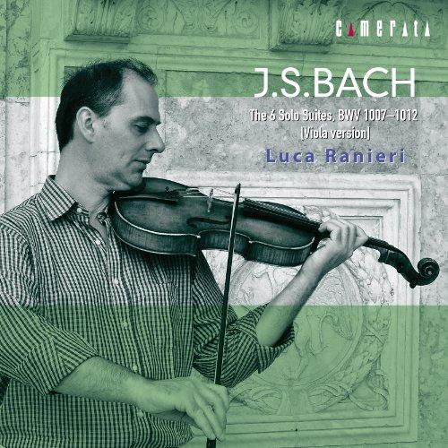 ラニエリ(ヴィオラ) / J.S.バッハ:無伴奏チェロ組曲全曲