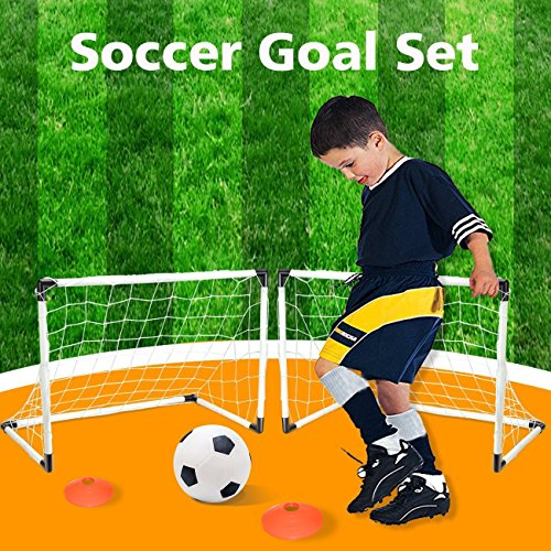 Soccer training ball set