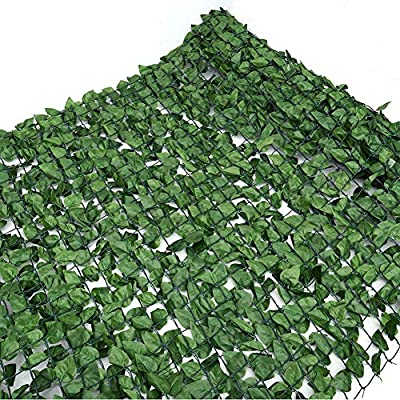 Artificial Ivy Leaf Fence Roll Screening 3m Privacy Border Hedge Panels Plastic