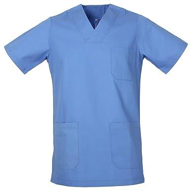 MISEMIYA - Casaca Unisex MÉDICO Enfermera Uniforme Limpieza Laboral ESTÉTICA Dentista Veterinaria Sanitario HOSTELERÍA - Ref.817