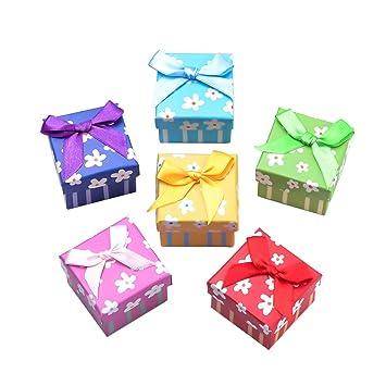 NBEADS - 24 Cajas de cartón para Anillos pequeñas, Caja para Anillos de cartón para