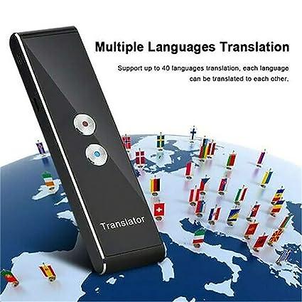 Translaty MUAMA Enence Smart Instant Real Time Voice Languages Translator  New (Black)
