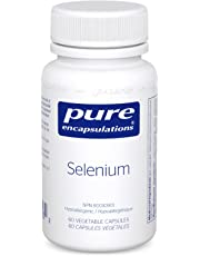 Pure Encapsulations - Selenium - Antioxidant Selenomethionine to Support Good Health - 60 Vegetable Capsules