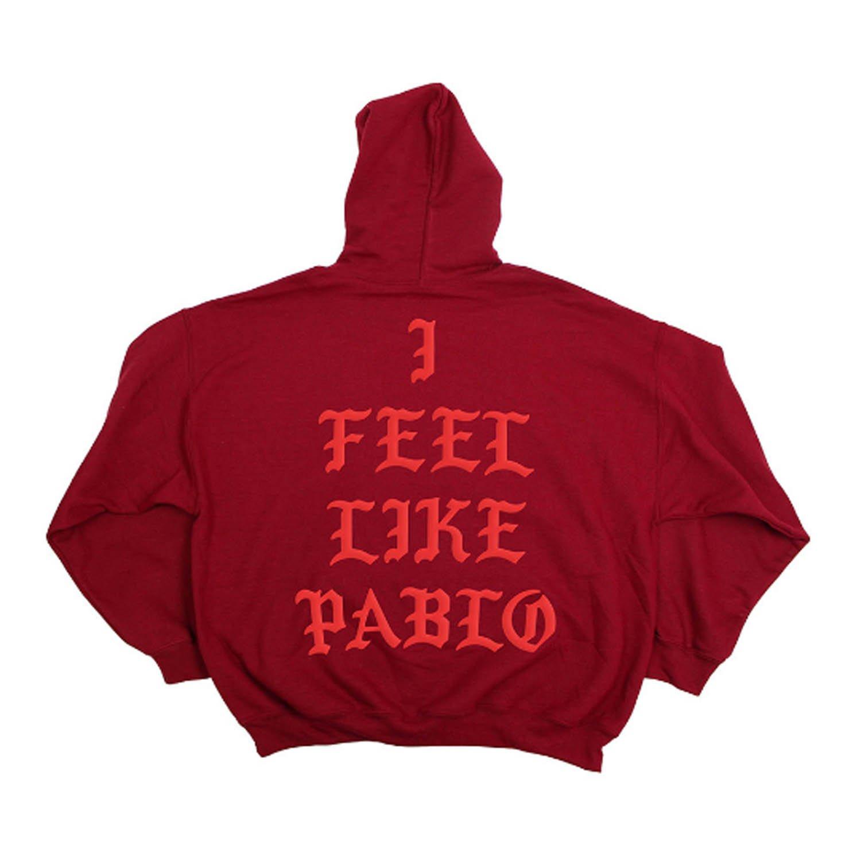 Yeezus Tour RED Hoodie Yeezy I Feel Like Pablo