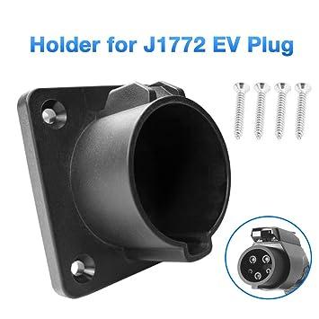 Morec EV(estándar de EE.UU.) - Soporte de Cargador para Enchufe de Coche eléctrico Tipo 1 EVSE J1772 …