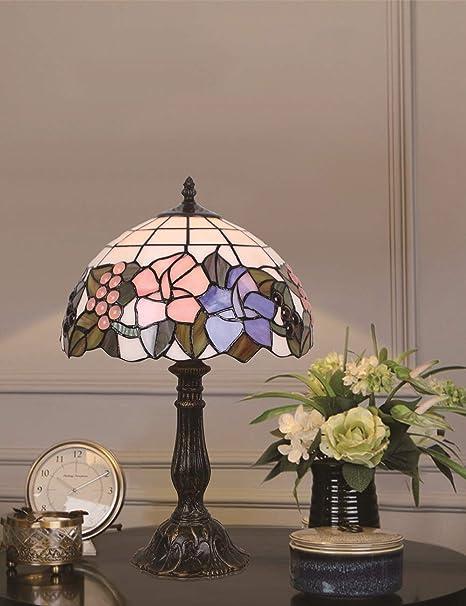 HDO Table lamp Luz de cabecera de la lámpara de Mesa Floral