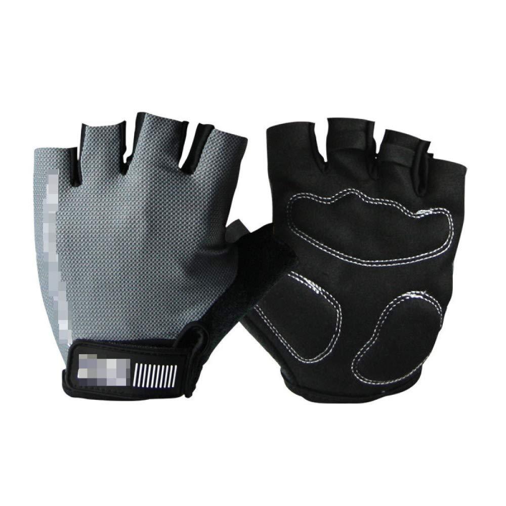 YIWANGO Halbe Fingerhandschuhe Für Herren Outdoor Radfahren Fitness Skid,3-M