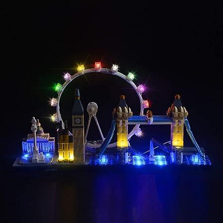 LIGHTAILING Conjunto de Luces (Architecture Londres) Modelo de Construcción de Bloques - Kit de luz LED Compatible con Lego 21034 (NO Incluido en el Modelo)