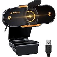 Video Cámara Web1080P Full HD USB,Webcam de Conferencia USB Ajustable con Micrófono Incoprado Computadora Portátil…
