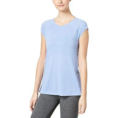 Calvin Pour Performance T Bleu Femme Shirt Taille De Klein Yoga qVGzMUSp