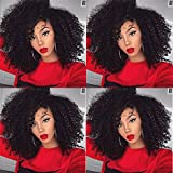 Kinky Curly Clip in Hair Extensions Natural Brazilian Curly African American Clip in