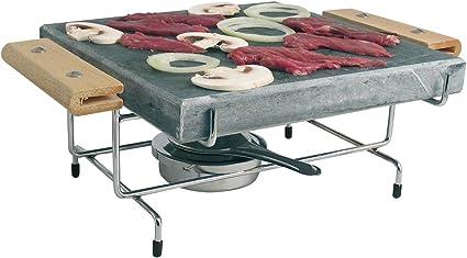 Piedra para cocinar en 25 x 25 cm, incluye el Hornillo ...
