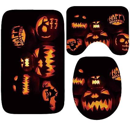 Astonishing Amazon Com Krwhts Halloween Jack O Lanterns Rug Mat Seat Lamtechconsult Wood Chair Design Ideas Lamtechconsultcom