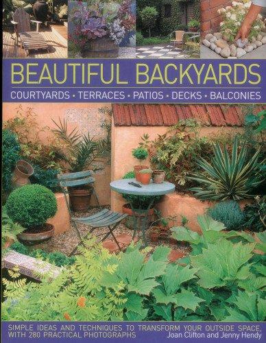 Cheap  Beautiful Backyards: Courtyards, Terraces, Patios, Decks & Balconies