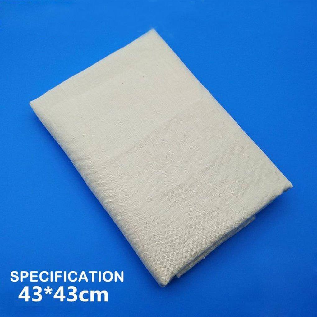 Masterein Tofu Cloth Tofu Maker Gauze Cotton Cheese Cloth for Kitchen DIY Pressing Mould Kitchen Tool 1pcs