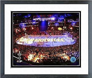"Bridgestone Arena Nashville Predators Game 3 2017 Stanley Cup Stadium Photo (Size: 12.5"" x 15.5"") Framed"