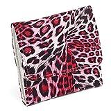 Jewelry Best Seller Red Leopard Print Jewelry Wallet