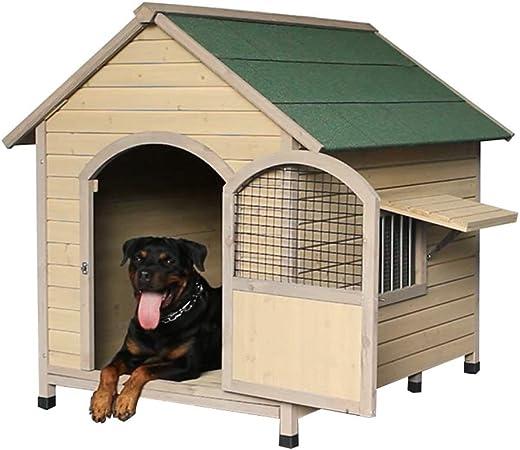 Casetas para perros Casa de Perros Casa de Mascotas Casa Impermeable Casa de jardín Perrera al Aire Libre Perrera Casa de Mascotas Transpirable cálida Casa de Mascotas de Interior: Amazon.es: Hogar