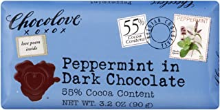 product image for Chocolove Peppermint in Dark Chocolate 55% Cocoa Content 3.2 OZ