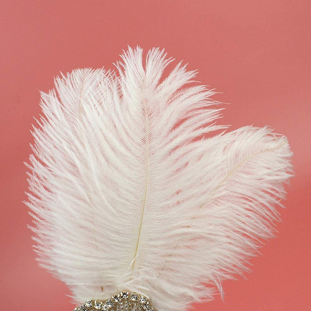Great Gatsby Flapper Headband Elegant Crystal Rhinestone Flower Tassels 1920s Vintage Hairband Old Hollywood Glam Headpiece