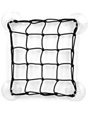 Lixada Stand Up Paddleboard Cargo Net Deck Storage Mesh Net Kayak Cargo Bungee Net with Suction Cups