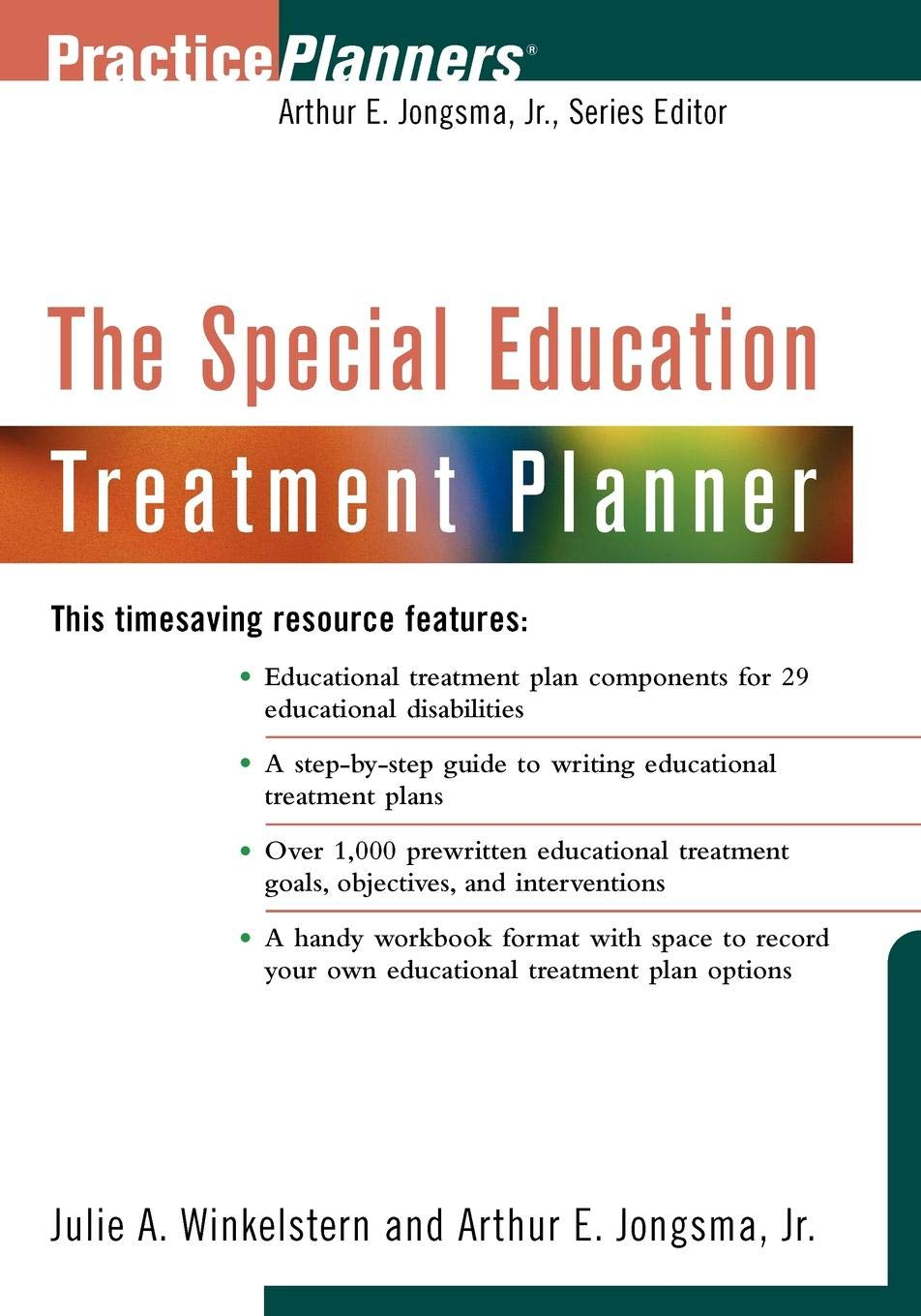 Special Education Eligibility And Dsm 5 >> The Special Education Treatment Planner Julie A Jongsma