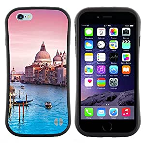 "Hypernova Slim Fit Dual Barniz Protector Caso Case Funda Para Apple (4.7 inches!!!) iPhone 6 / 6S (4.7 INCH) [Arquitectura Catedral Venecia""]"