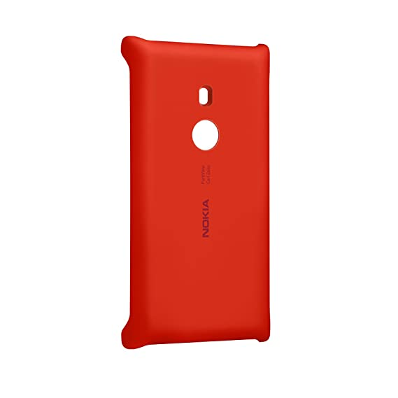 detailed look 77e51 5e5e7 Nokia CC-3065 Wireless Charging Cover for Lumia 925 - Retail Packaging - Red