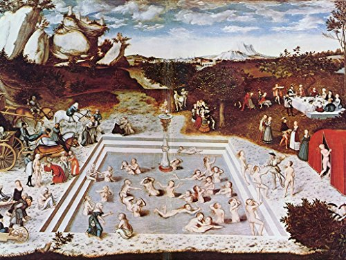 - Lais Jigsaw Lucas Cranach d. Ä. - The Fountain of Youth 500 Pieces