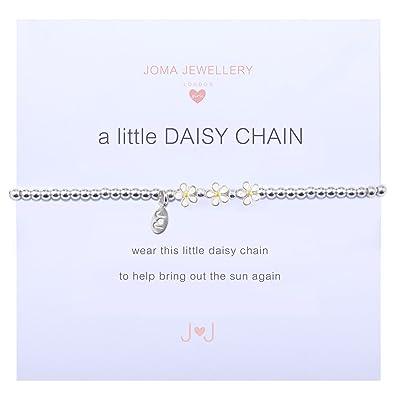 Joma Jewellery A Little Daisy Chain Bracelet (Adults) rKndD