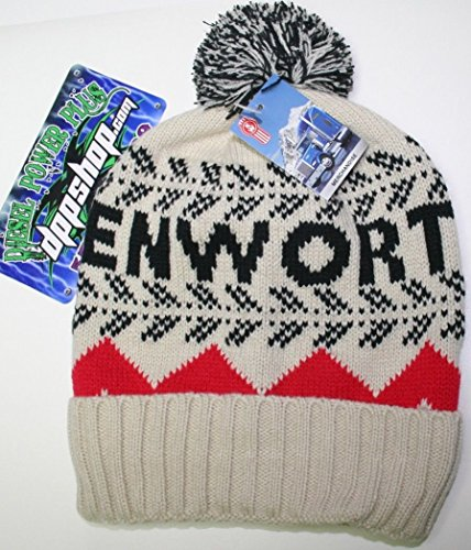 Diesel Power Plus Kenworth POM Beanie Stocking Cap hat Truck Toboggan ski Ladies kw semi cat New