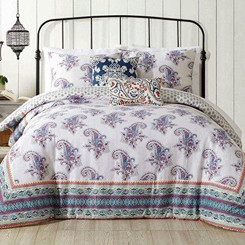 Jessica Simpson A056015MUEFS 3Piece Gemma Comforter Set, Kin