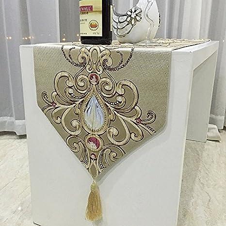 2654268fa685 YFQH-Cameo opulento fiore europeo tabella classica DECORAZIONE TAVOLA  Runner Accessori per caffè Accessori per caffè WangYangDaHai Stoviglie
