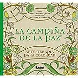 La campiña de la paz: arte - terapia para colorear (Spanish Edition)