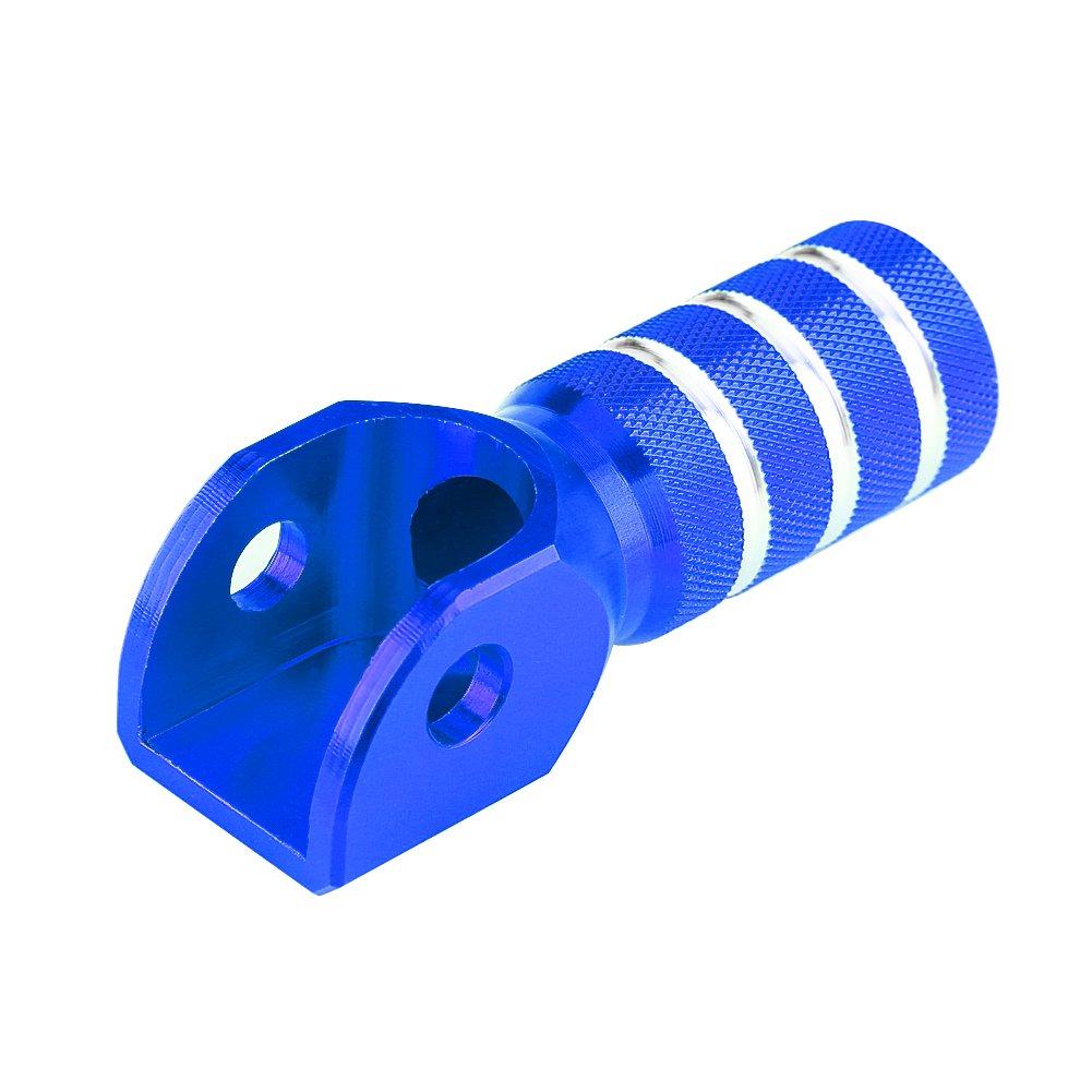 Blue Embouts de Levier de Changement de Vitesse Levier de Vitesse de la Commande Num/érique Moto Shifter Remplacement avec Plaque de Frein Arri/ère