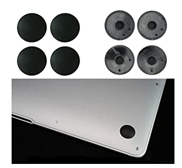 4x Bottom Case Rubber Feet Foot Replace For Macbook A1466 A1370 A1465 A1369 Computer & Office